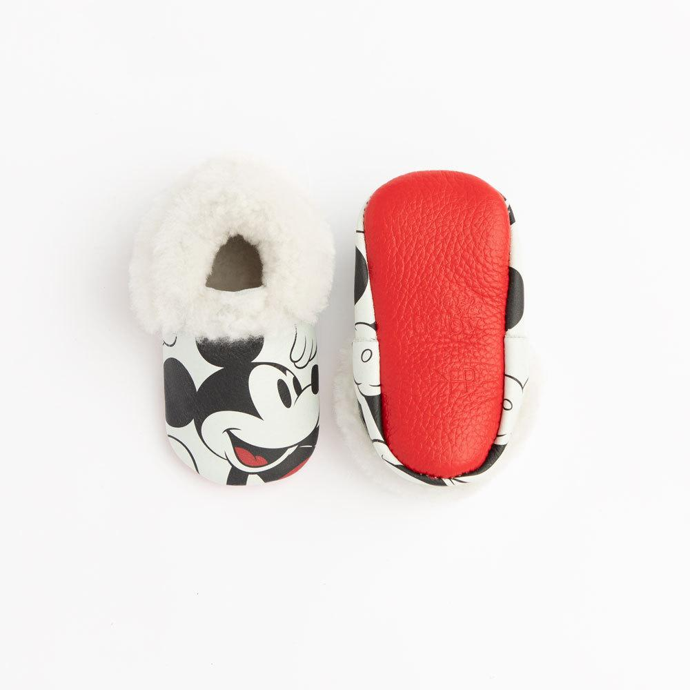 Mickey Mouse Shearling Mocc Shearling Mocc Soft Soles