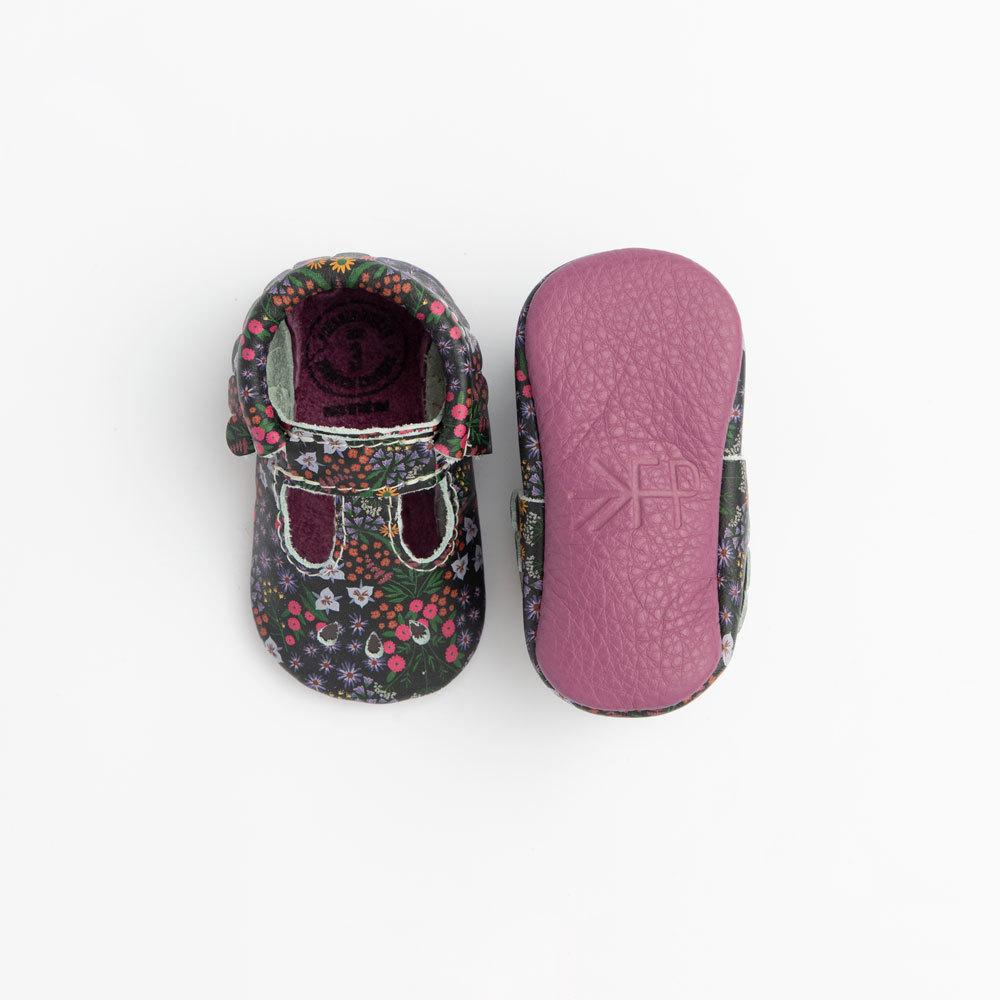 Midnight Floral Mary Jane Mary Janes Soft Soles