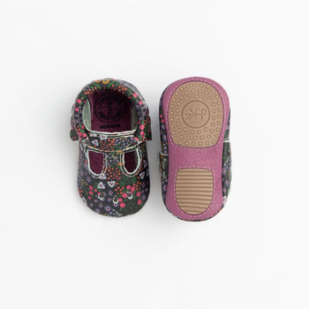 Midnight Floral Mary Jane Mini Sole Mini Sole Mary Jane mini soles