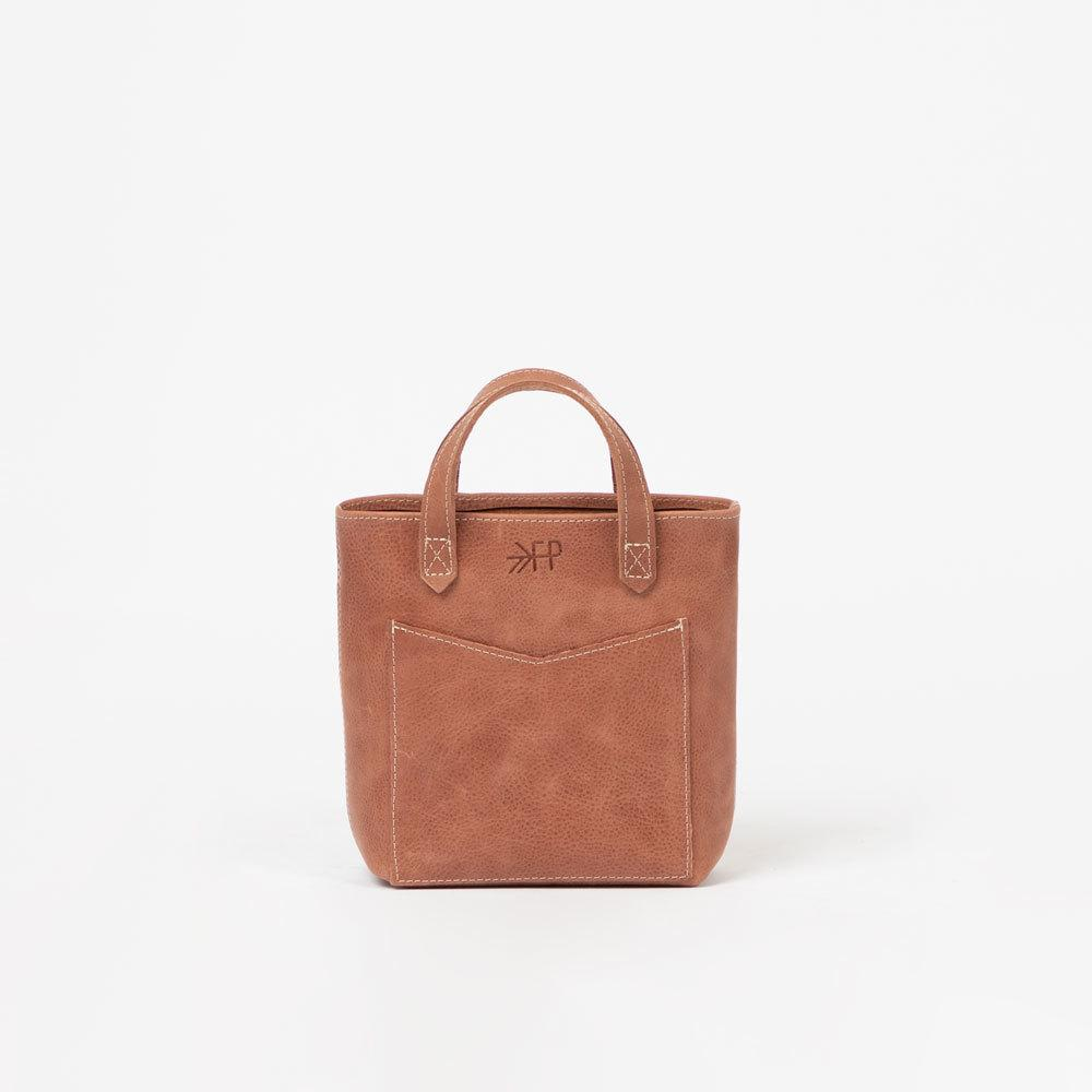 Red Rocks Mini Leather Tote Bags Lindon Bags