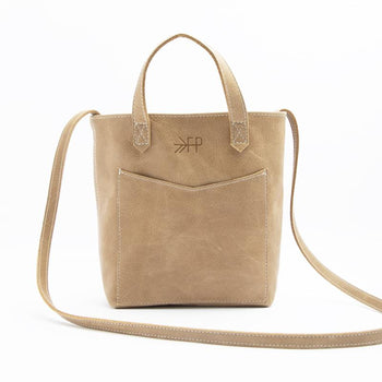 Weathered Brown Tote Mini