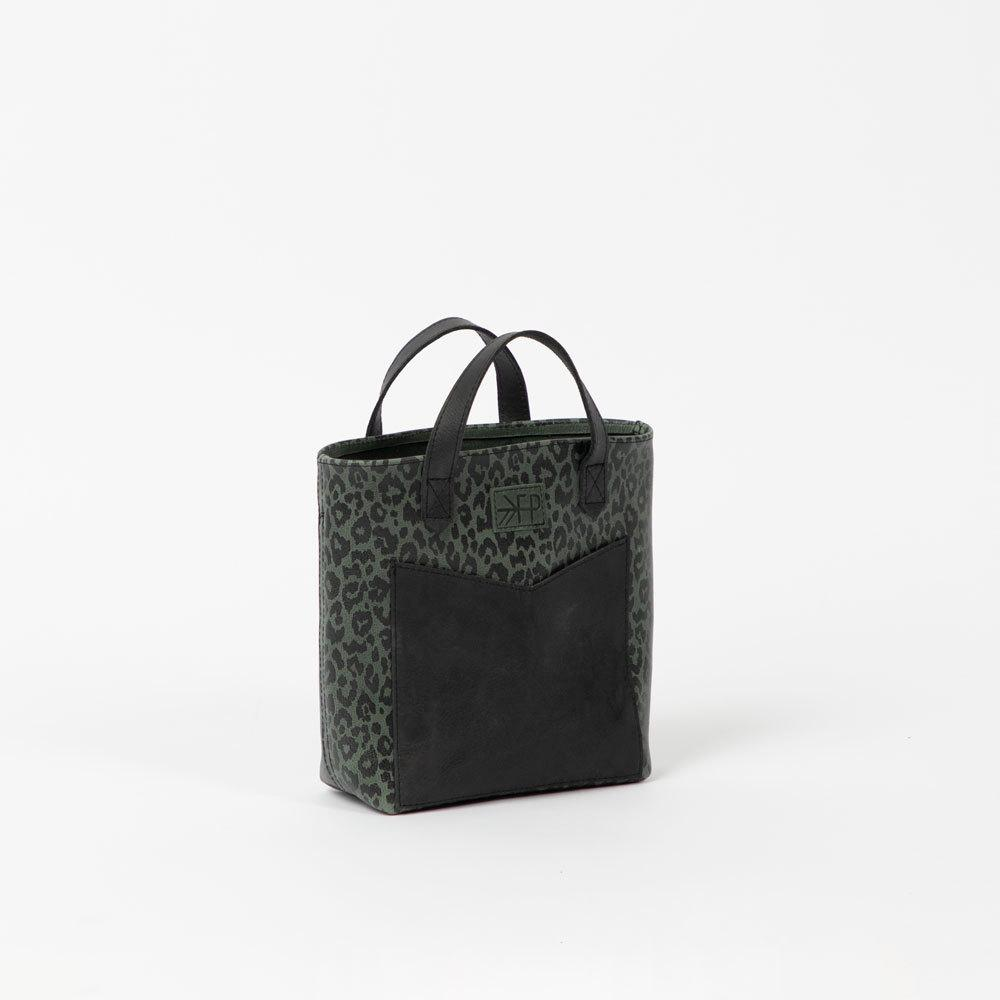 Uinta Leopard Leather Mini Tote Bags Lindon Bags