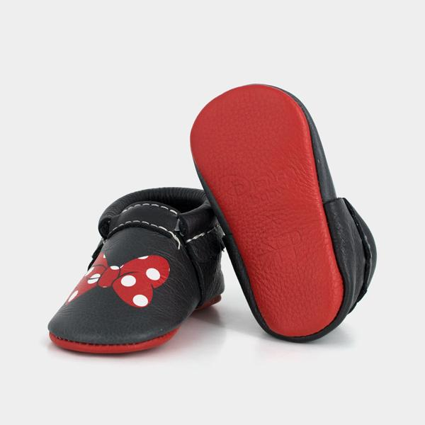 Minnie Style Moccasins Soft Soles