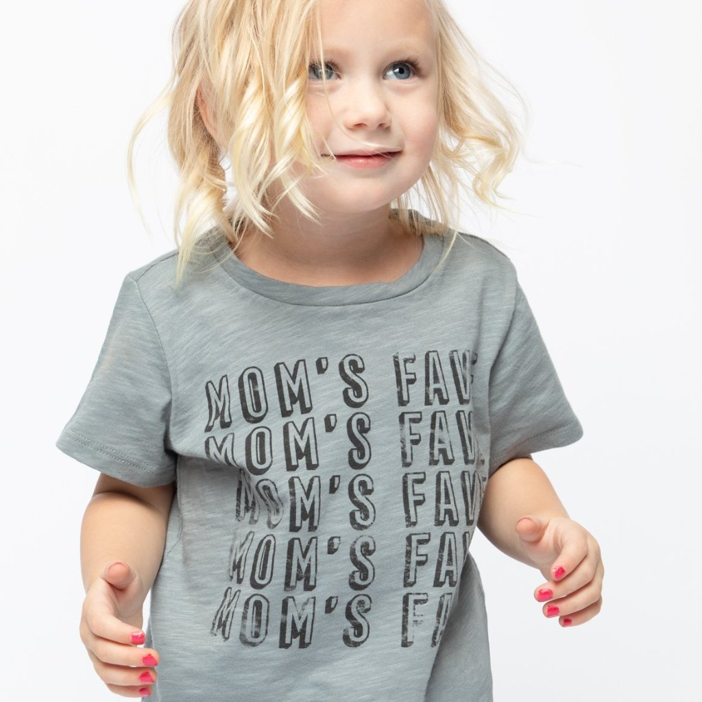 Mom's Fave Short Sleeve Graphic Tee