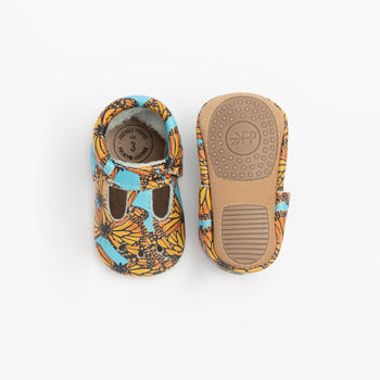 Monarch Butterfly Mary Jane Mini Sole
