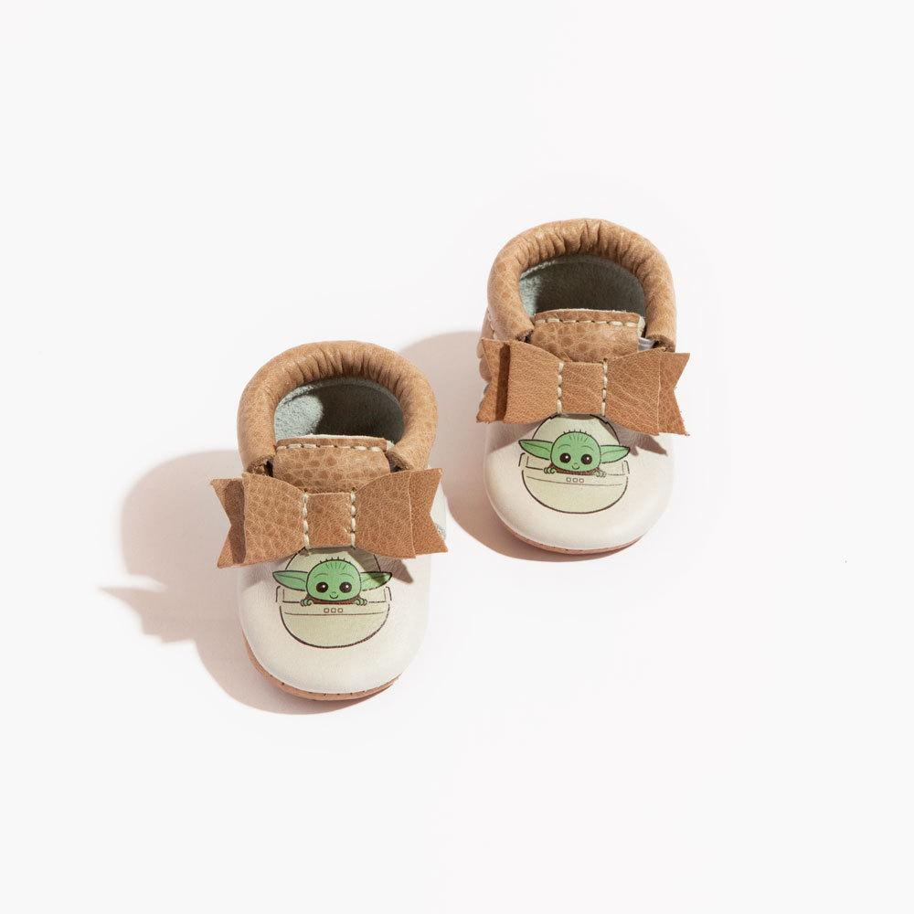 Newborn The Child Bow Mocc Newborn Bow Mocc soft sole