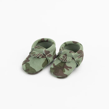 Newborn Camo CIty Mocc newborn city mocc Soft Soles
