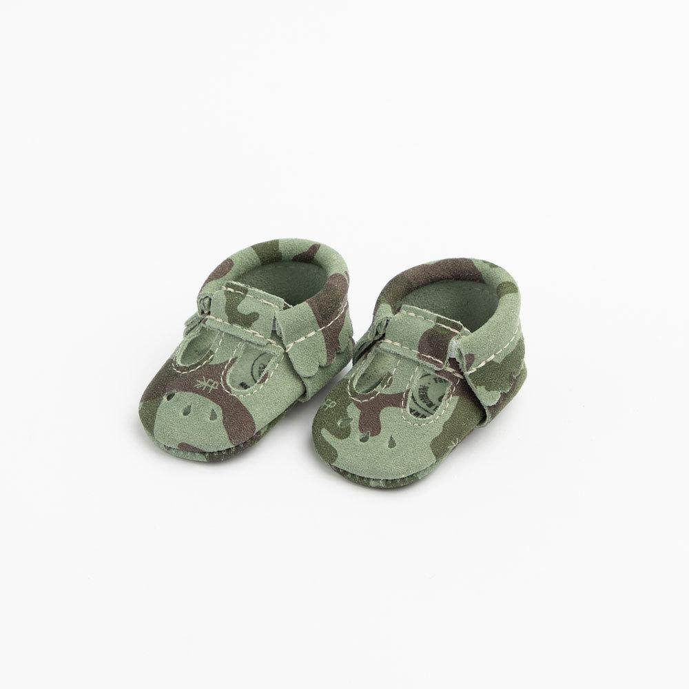 Newborn Camo Mary Jane newborn mary jane Soft Soles
