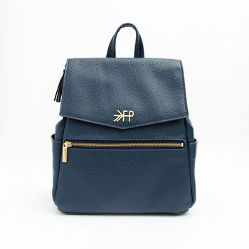 Navy Mini Classic Bag
