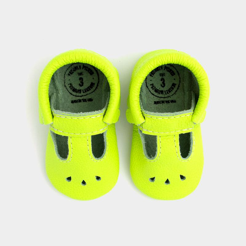 Neon Green Mary Jane Mary Janes Soft Soles