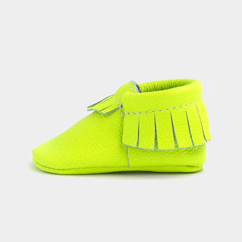 Neon Green Mini Sole | Pre-Order Mini Sole Mocc Mini soles
