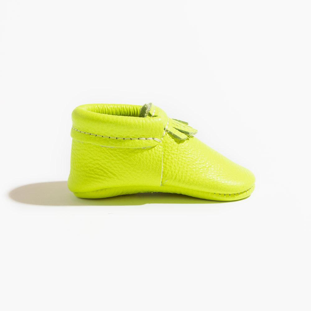 Neon Green City Mocc City Moccs Soft Soles