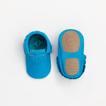 Neon Blue Mini Sole Mini Sole Mocc mini soles