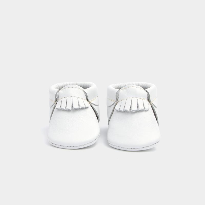 Newborn Ivory City Mocc newborn Soft Soles