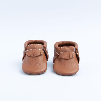Newborn Molasses City Mocc newborn Soft Soles