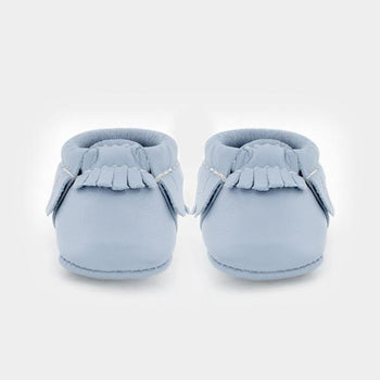 Newborn Powder Blue newborn Soft Soles