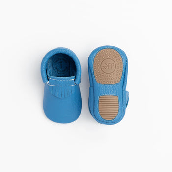Ocean Blue City Mocc Mini Sole Mini Sole City Mocc mini soles