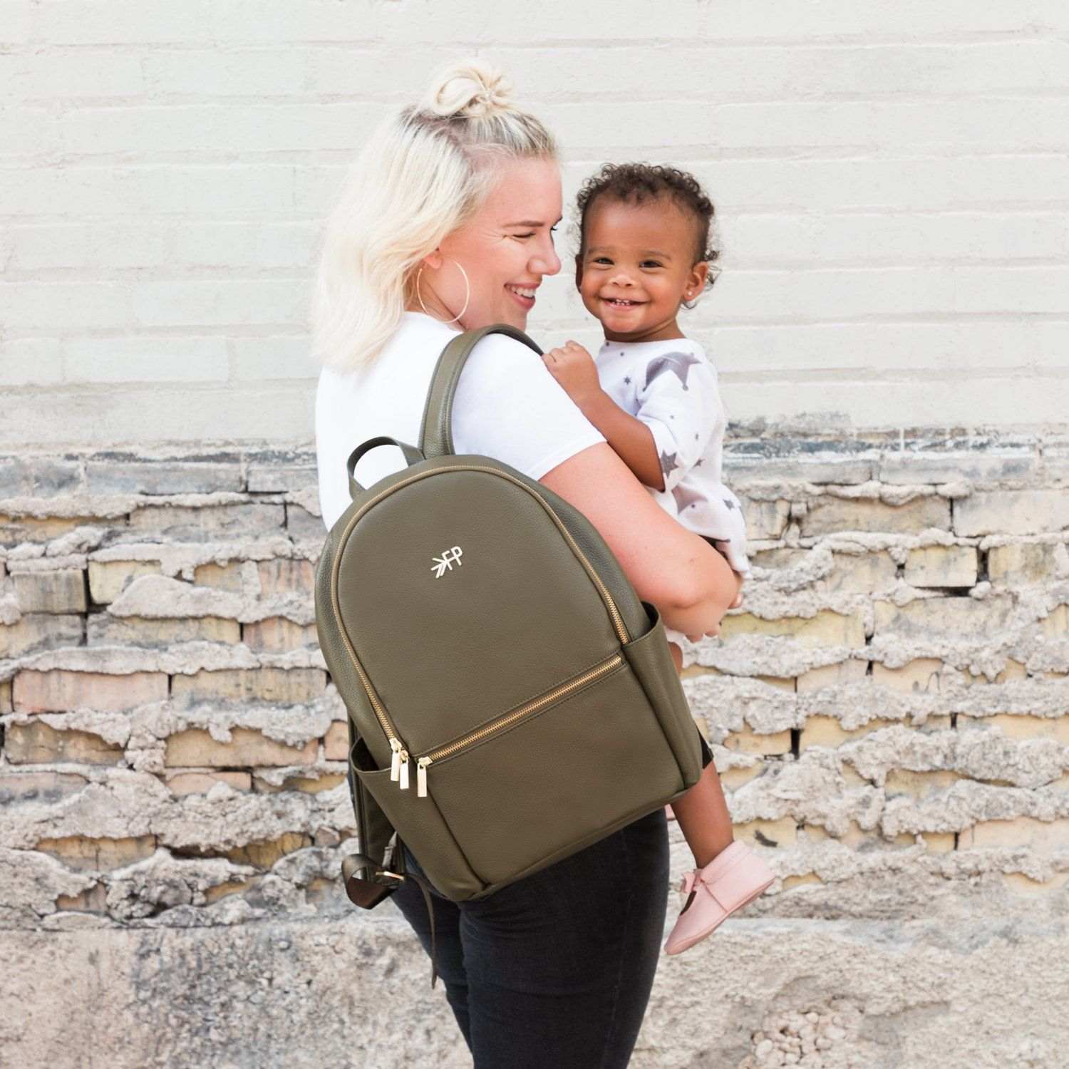 Olive Classic City Pack Classic City Pack Diaper Bag