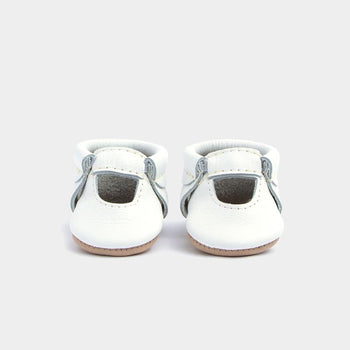 Newborn Bright White Ballet Flat newborn Soft Soles