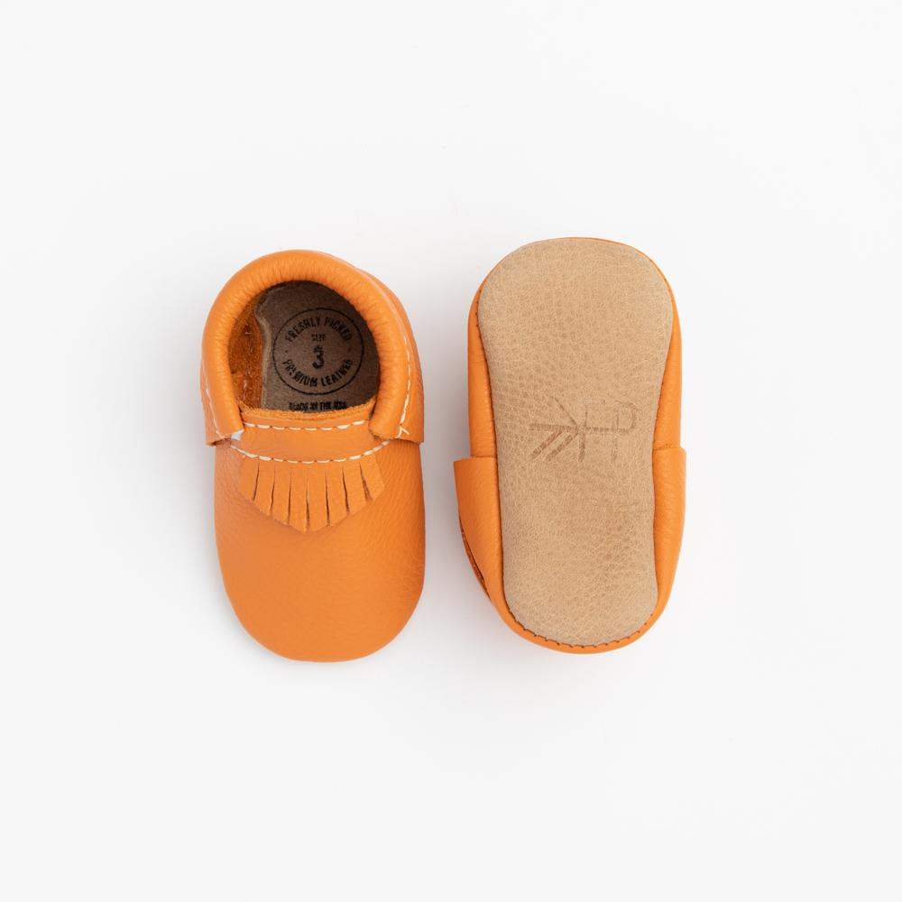 Orange City Mocc City Moccs Soft Soles