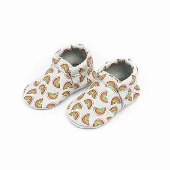 Over the Rainbow City Mocc City Moccs Soft Soles