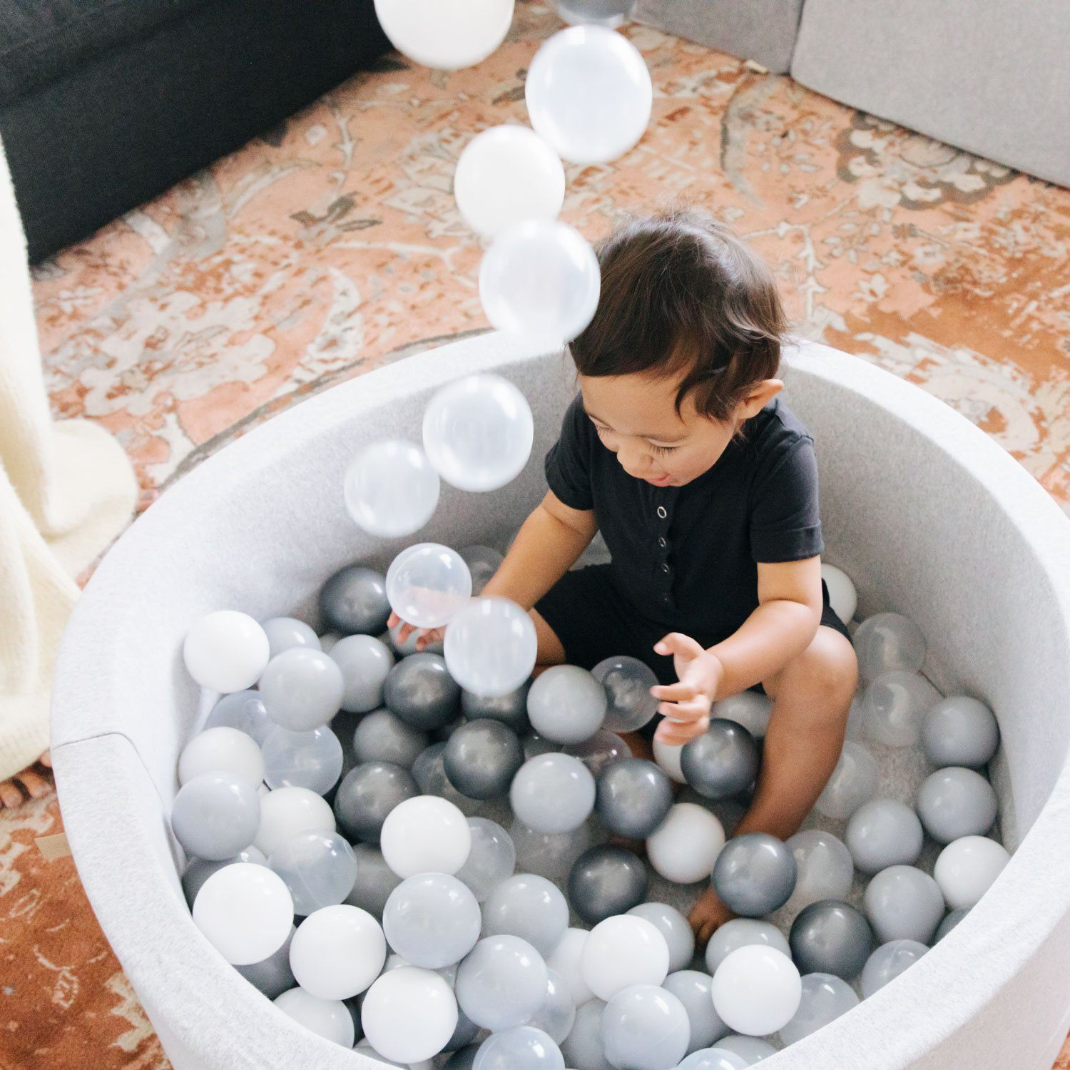Grey Ball Pit Ball Pit Play