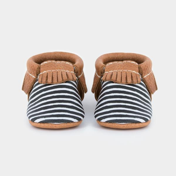 Painted Stripe Mini Sole Mini Sole Mocc mini soles