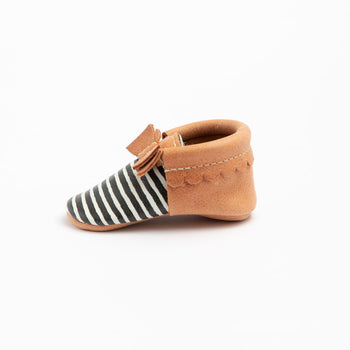 Painted Stripe Bow Mocc Mini Sole | Pre-Order