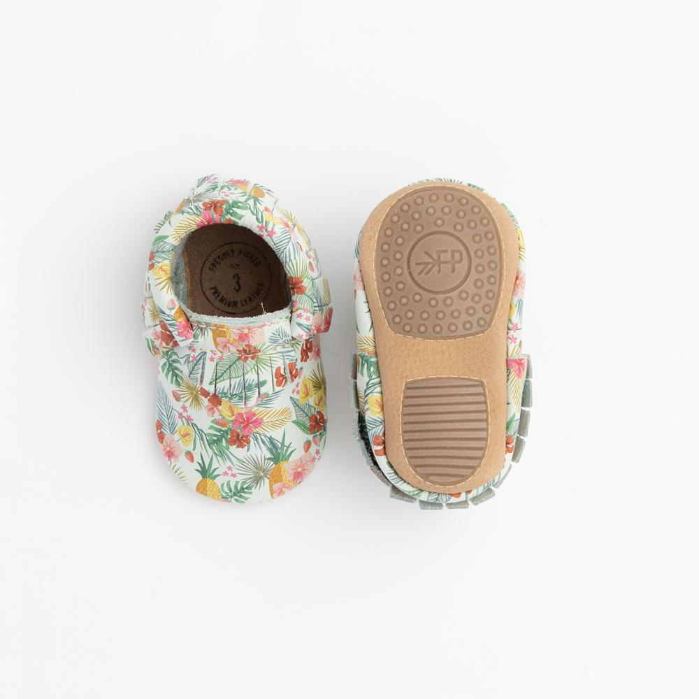 Palms and Pineapples Mini Sole Mini Sole Mocc mini soles
