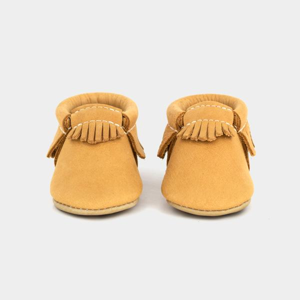 Paw Print Moccasins Soft Soles