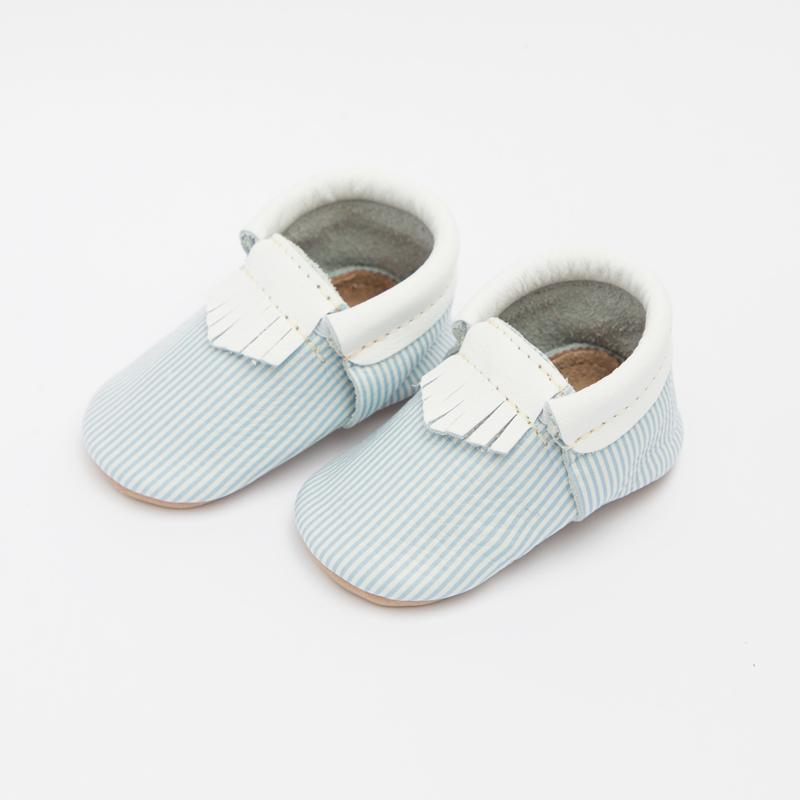 Pinstripe City Mocc Mini Sole Mini Sole City Mocc Mini soles