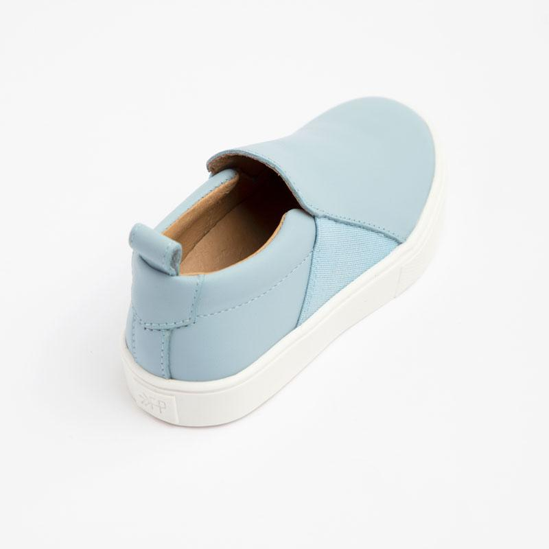 Powder Blue Slip-On Sneaker Kids - Classic Slip-On Sneaker Kids Sneakers