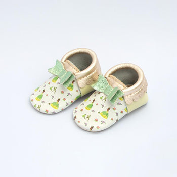 Princess and the Frog Bow Mocc Bow Moccasins Soft Soles
