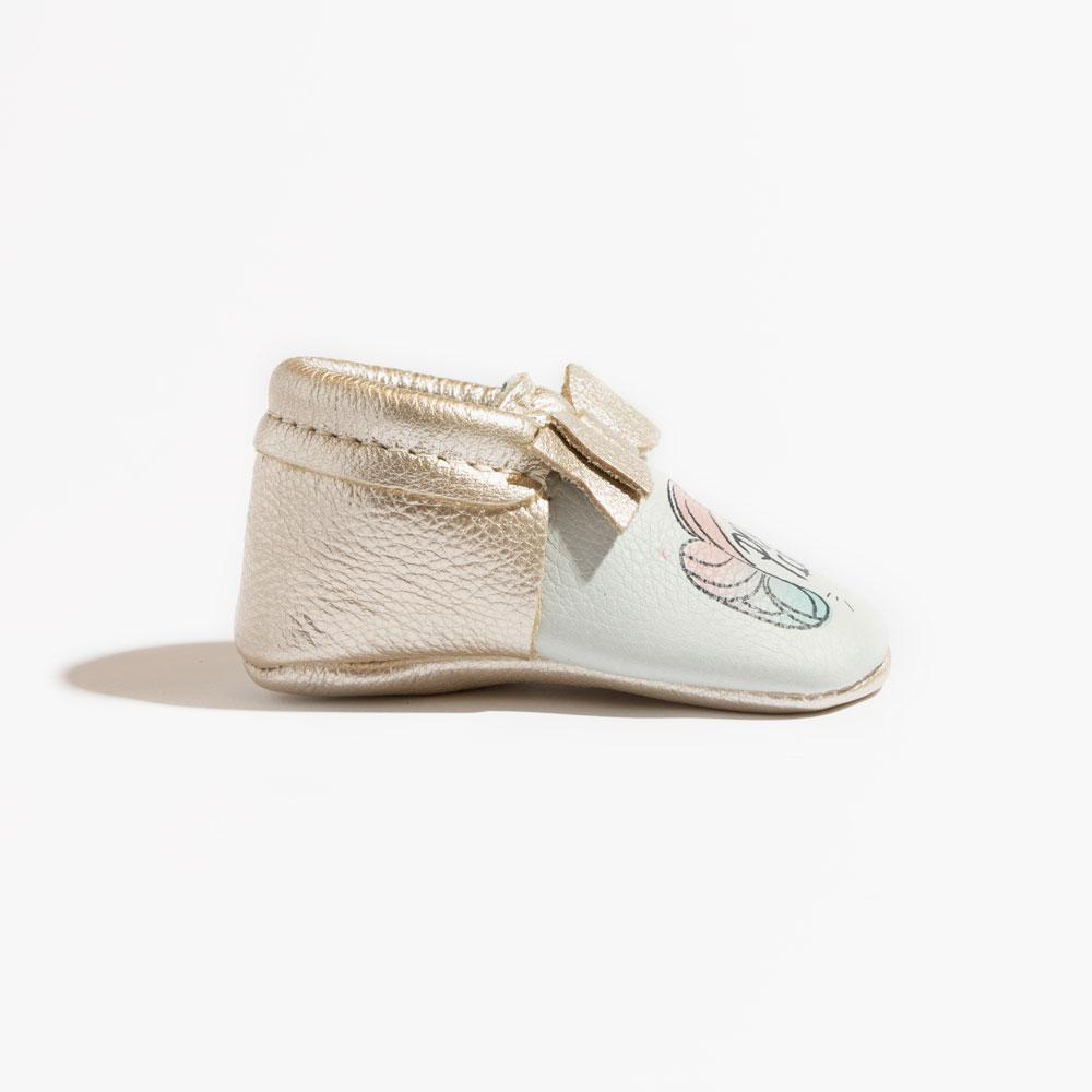 Princess Leia Bow Mocc Bow Moccasins Soft Soles