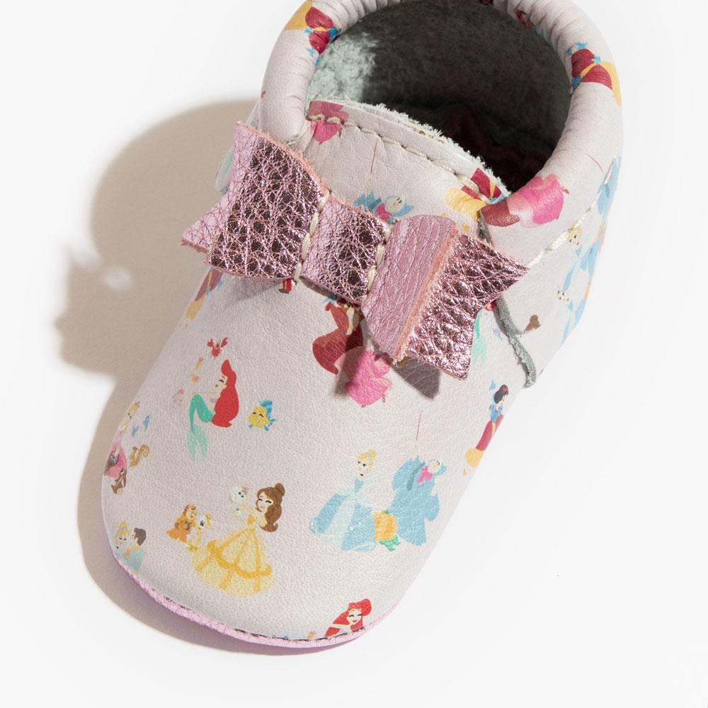Princesses Bow Mocc Mini Sole Mini Sole Bow Moccasin Mini soles