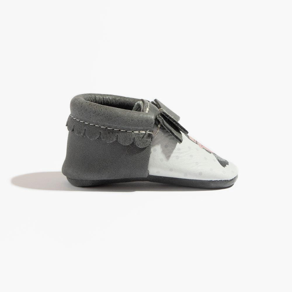 RBG Bow Mocc Mini Sole Bow Moccasins Mini Sole