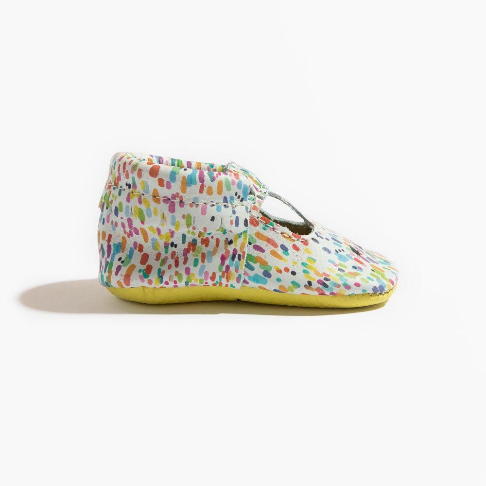 Rainbow Dapple Mary Jane Mary Janes Soft Soles