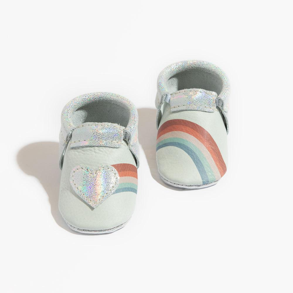 Rainbow Love City Mocc City Moccs Soft Soles
