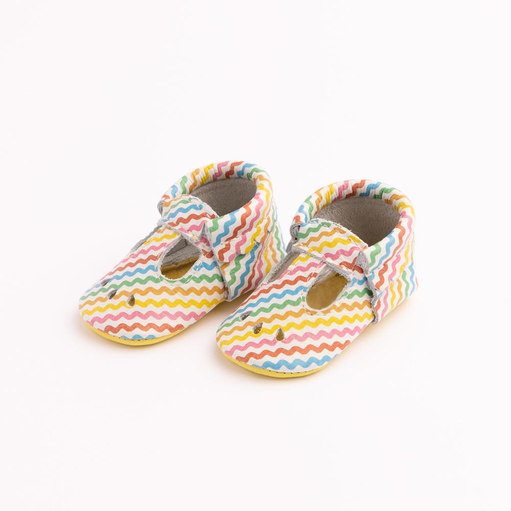 Rainbow Ric Rac Mary Jane Mary Janes Soft Soles
