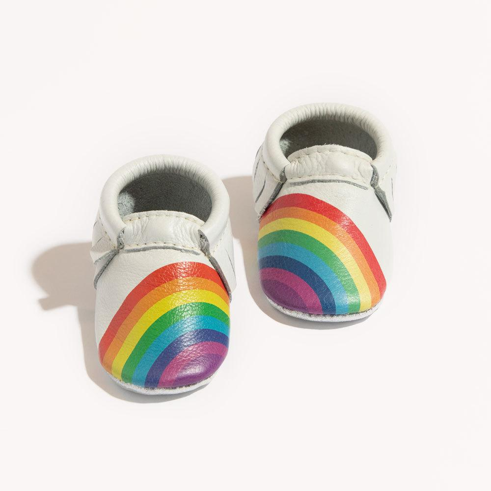 Rainbows on Your Toes Mini Sole Mini Sole Mocc Mini soles