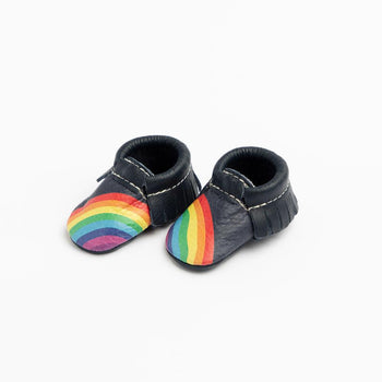 Newborn Navy Rainbow On Your Toes