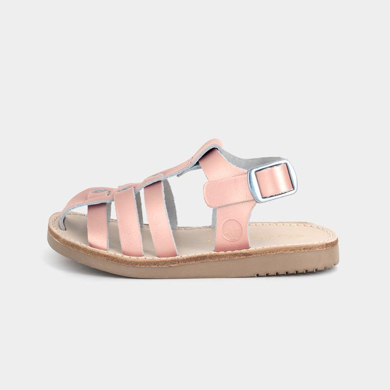 Rose Gold Bixby Sandal Bixby Sandal Kids Sandals