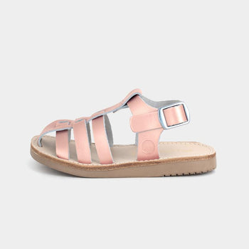 Rose Gold Bixby Sandal