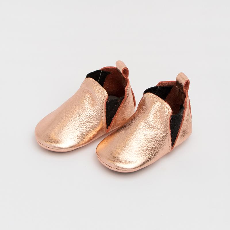 Rose Gold Chelsea Boot Mini Sole Mini Sole Chelsea Boot mini soles