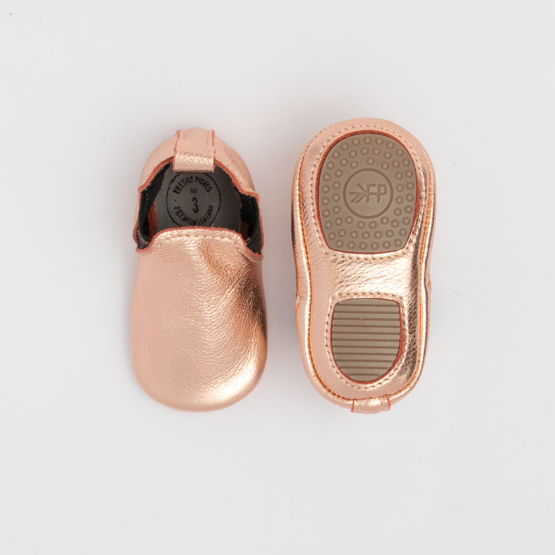 Rose Gold Chelsea Boot Mini Sole