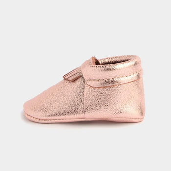 Rose Gold City Mocc City Moccs Soft Soles