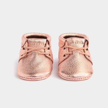 Rose Gold Oxford Oxford Soft Soles