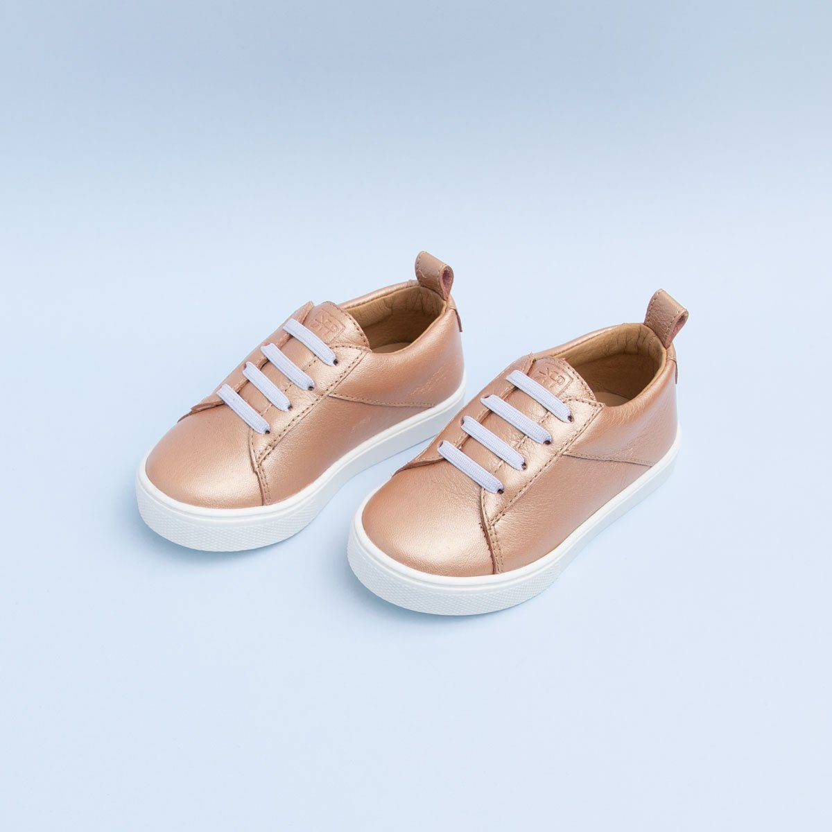 Rose Gold Classic Sneaker – Freshly Picked