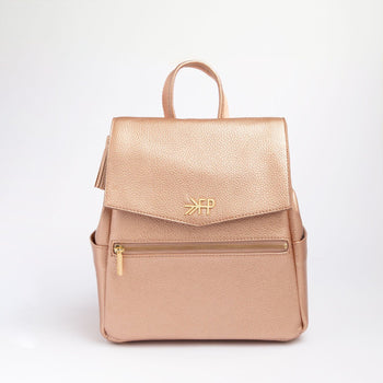 Rose Gold Mini Classic Bag