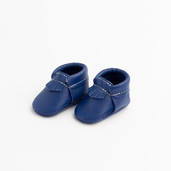 Newborn Royal Blue City Mocc